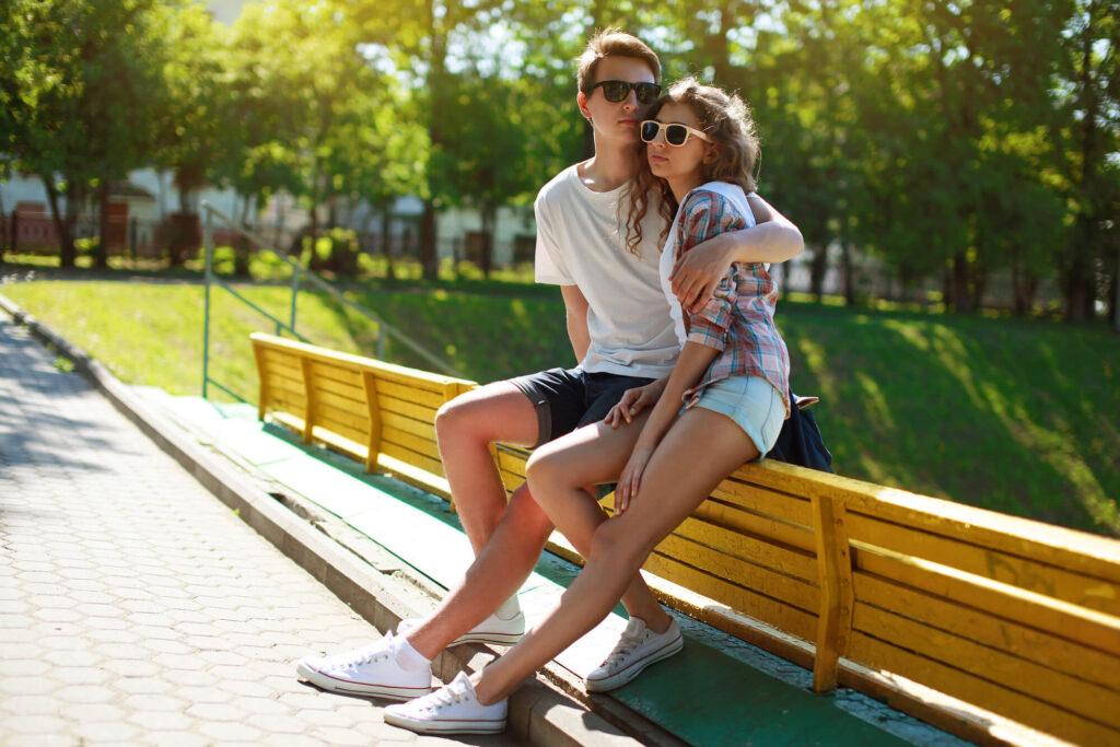 Свидание в Уфе в парке