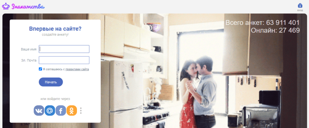 Обзор сайта знакомств znakomstva.ru
