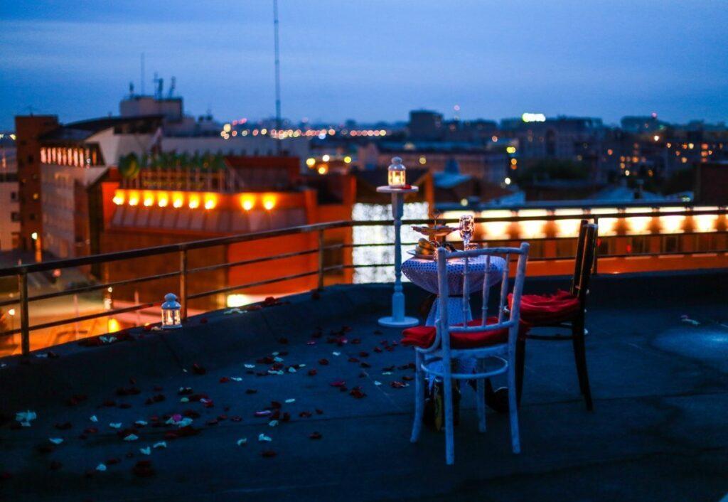 Свидание на крыше в Омске