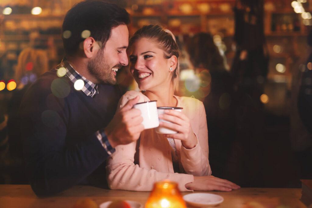 свидании в кафе с неженатым мужчиной