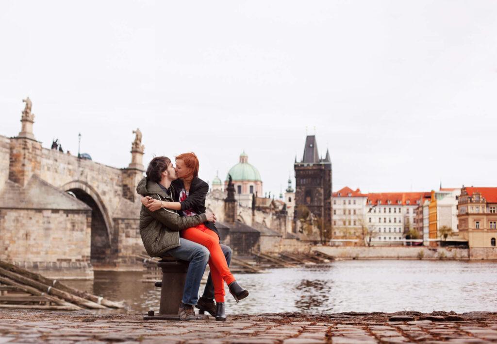 Свидании в Чехии