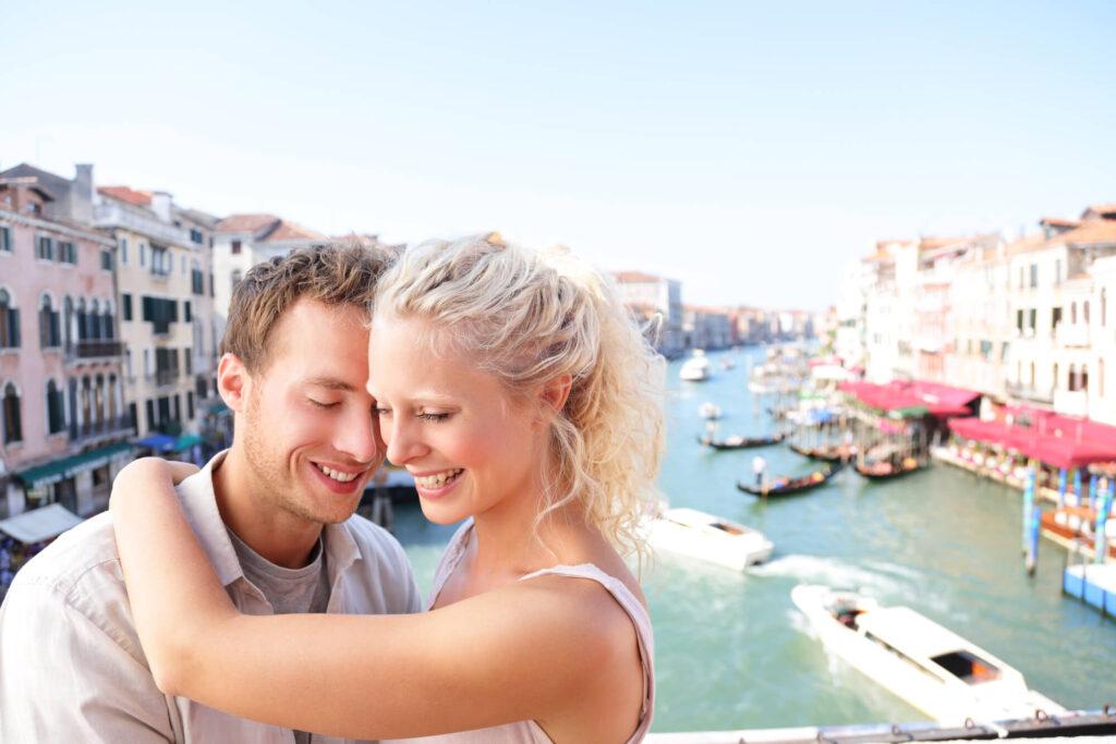 Романтическое свидание в Италии