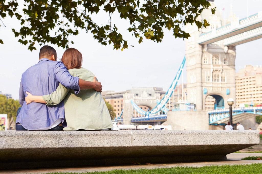 Свидание в центре Лондона